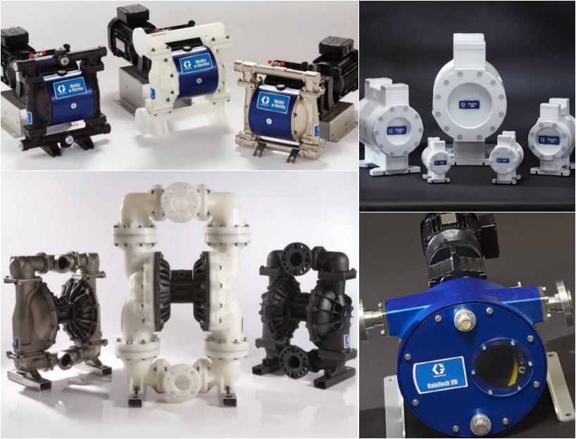 GRACO 气动隔膜泵设备及配件选型